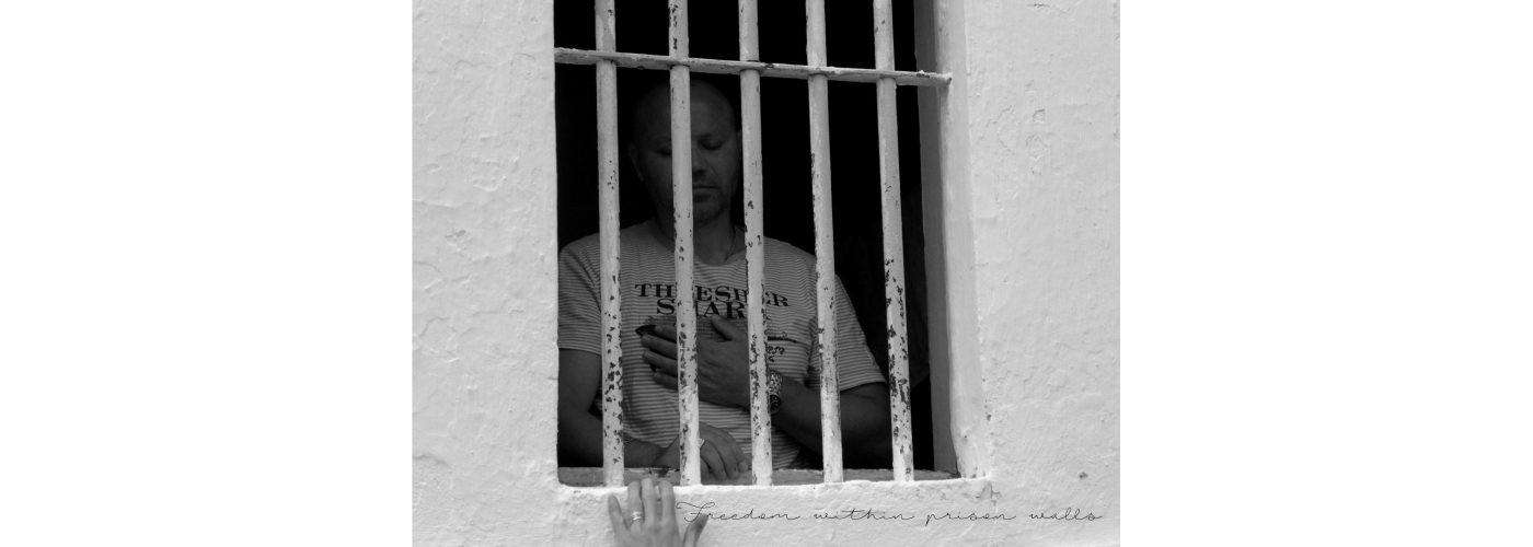 Freedom behind bars